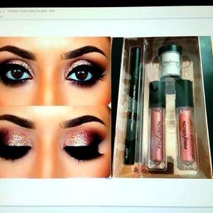 Liquid Eyeshadow and eyeliner - mixed metals